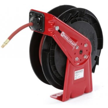 Medium Duty Spring Rewind Hose Reel for Air, Water, Antifreeze, Coolant, Washer Fluid