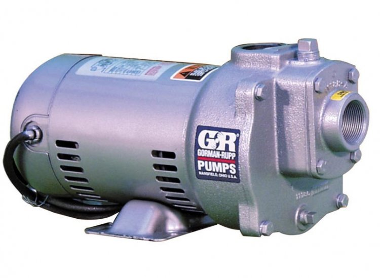 Self-Priming Utility Pump - Click Image to Close
