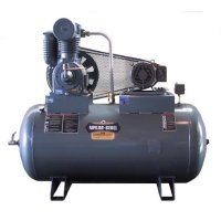 Two-Stage Horizontal Tank Air Compressor