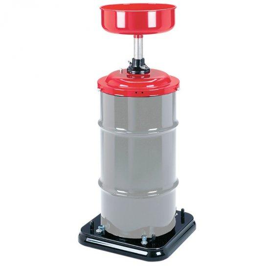 upright model capacity product dannmar lincoln portable lubrication oil drain sq gal gallon