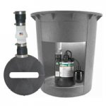 Submersible Water Pumps w/ Containment Sumps & Floats