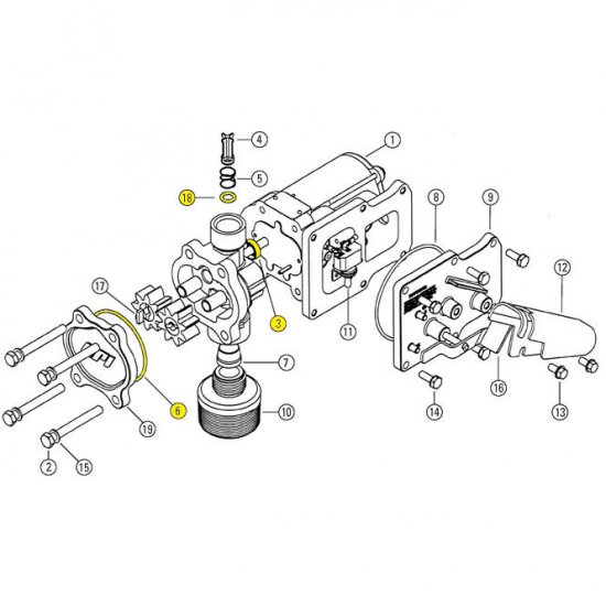 Facet Fuel Pumps Diagrams