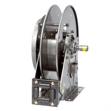 Spring Rewind Hose Reels for Air, Water, Lubrication