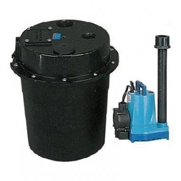 Waste Water Removal Sump Pump System