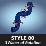 Style 80 - 3 Planes of Rotation