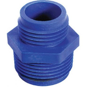 Discharge Adapters 1 in. x MNPT x 3/4 in. GHT