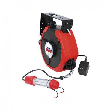 Medium Duty Spring Rewind Light Cord Reel