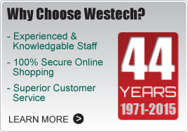 Why Choose Westech?