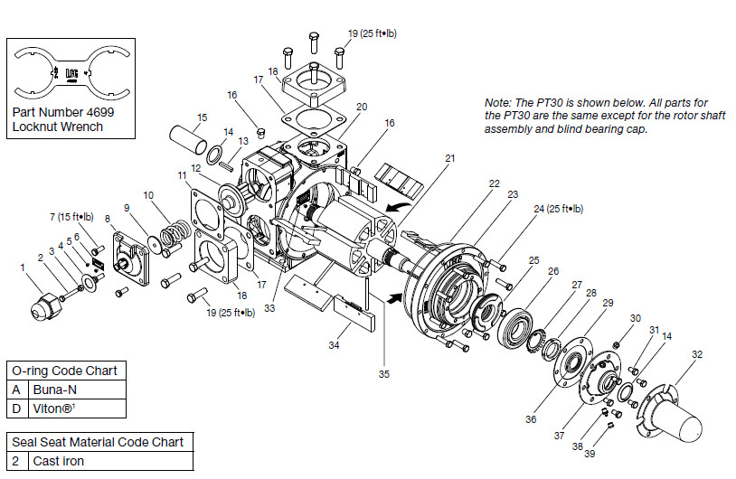 vane pump diagram