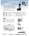 Little Giant Submersible Water Pump