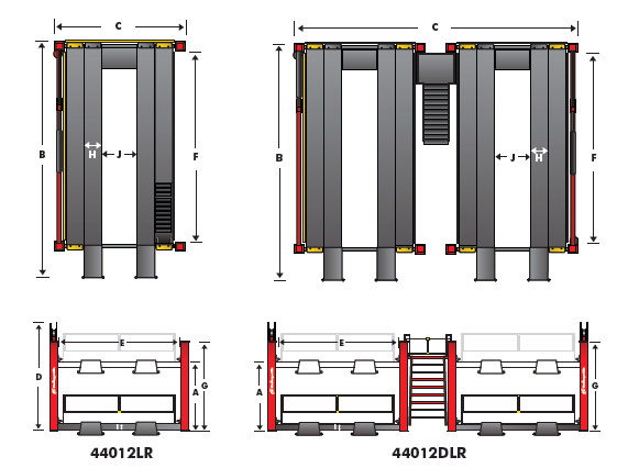 CL44012 Series Technical Drawing
