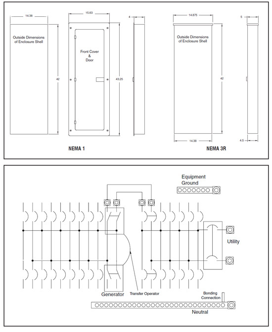 Generac 54_dimensions generac auto transfer switch wiring diagram dolgular com rtsw200a3 wiring diagram at gsmx.co