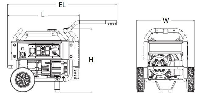 generac - xg4000