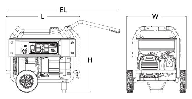 Generac Xg8000e 8000 Watt Portable Generator
