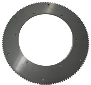 134T40 DISC SPROCKET, 21.62 in. DIA (CHROME SILVER) #40 Chain Disc Sprocket