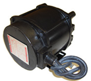 SX-139 MOTOR (12V DC BASE MT, 2/3 HP, 500 RPM) Leads at 9 o ft.clock