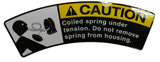 SPRING UNDER TENSION DECAL