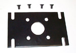 Flat Motor Mounting Plate, for non-EP Motors