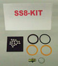 1/2 in. SUPER SWIVEL LOW TEMP BUNA PKG (SS-8-KIT-B-7657)