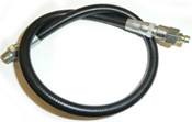 18 in. BRAIDED WHIP HOSE For EPIV series reels (to grease bearings)