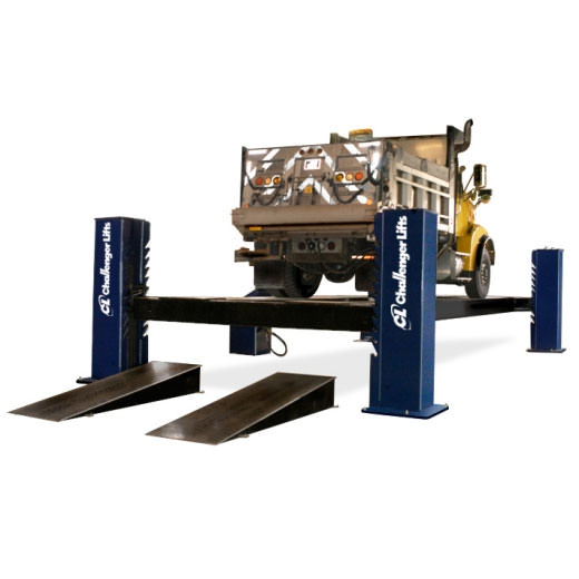 Challenger Lifts 44050 Series Four Post Heavy Duty Commercial Truck Lifts