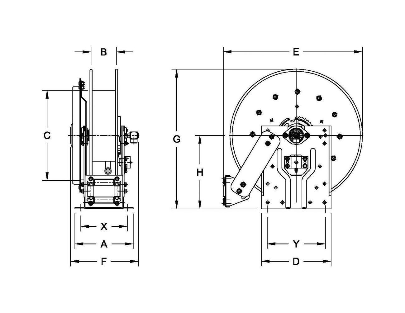 hannay reels wiring diagram 65 pontiac wiring diagram hannay reels - n700 series - air, water, lubrication reel #1