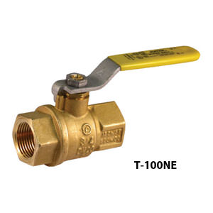 2 Piece Full Port Brass Ball Valves